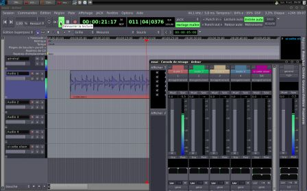 La mao sous linux avec ubuntu studio diy guitar effects for Photo ecran ubuntu